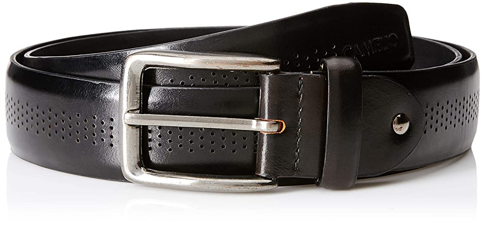 Camelio mens leather belt up to 87% off starting from INR 190 at Amazon