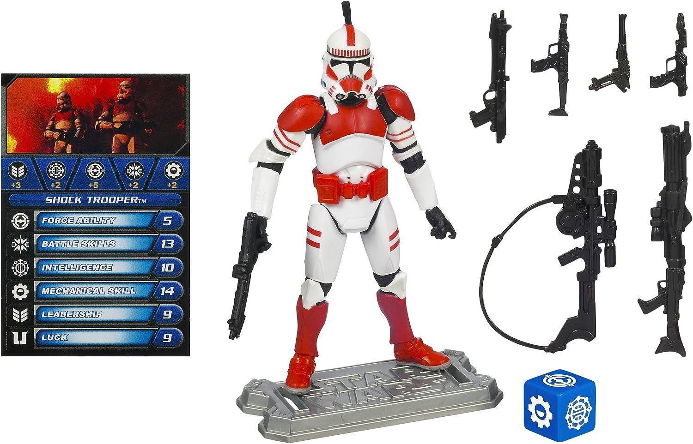 2005 Hasbro Star Wars ™ Shock Trooper Super Articulated