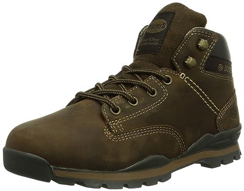 Dockers - Botas de cuero hombre, Cafe 020, 43: Amazon.es: Zapatos y complementos