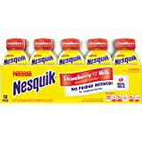 Nesquik Ready to Drink Milk, Strawberry, 8 Ounce, 10 Count