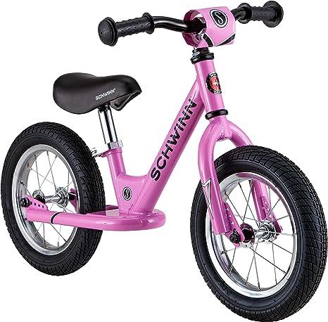Schwinn Balance Bike Bicicleta de Equilibrio, Rosa, 30,48 cm (12 ...
