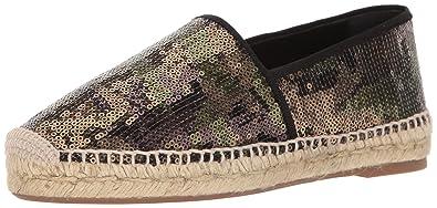 Marc Jacobs Women's Sienna Flat Espadrille Sandal, Khaki Multi, 35 EU/5 M