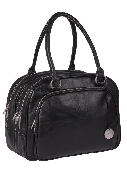 l ssig sac langer tender zipzip simili cuir noir sac. Black Bedroom Furniture Sets. Home Design Ideas