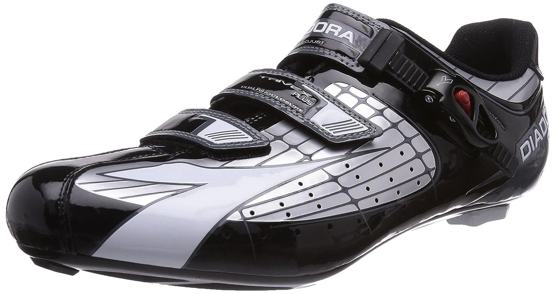 Diadora Trivex Plus - Zapatillas De Ciclismo para hombre Argento (Silber (Silber/Schwarz/Wei? 1147))