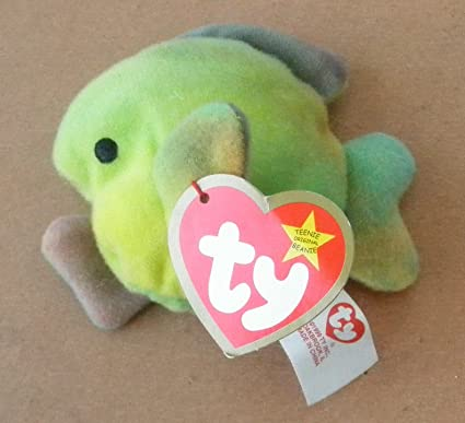 3afb34c88f9 Image Unavailable. Image not available for. Color  TY Teenie Beanie Babies  Coral the Fish ...