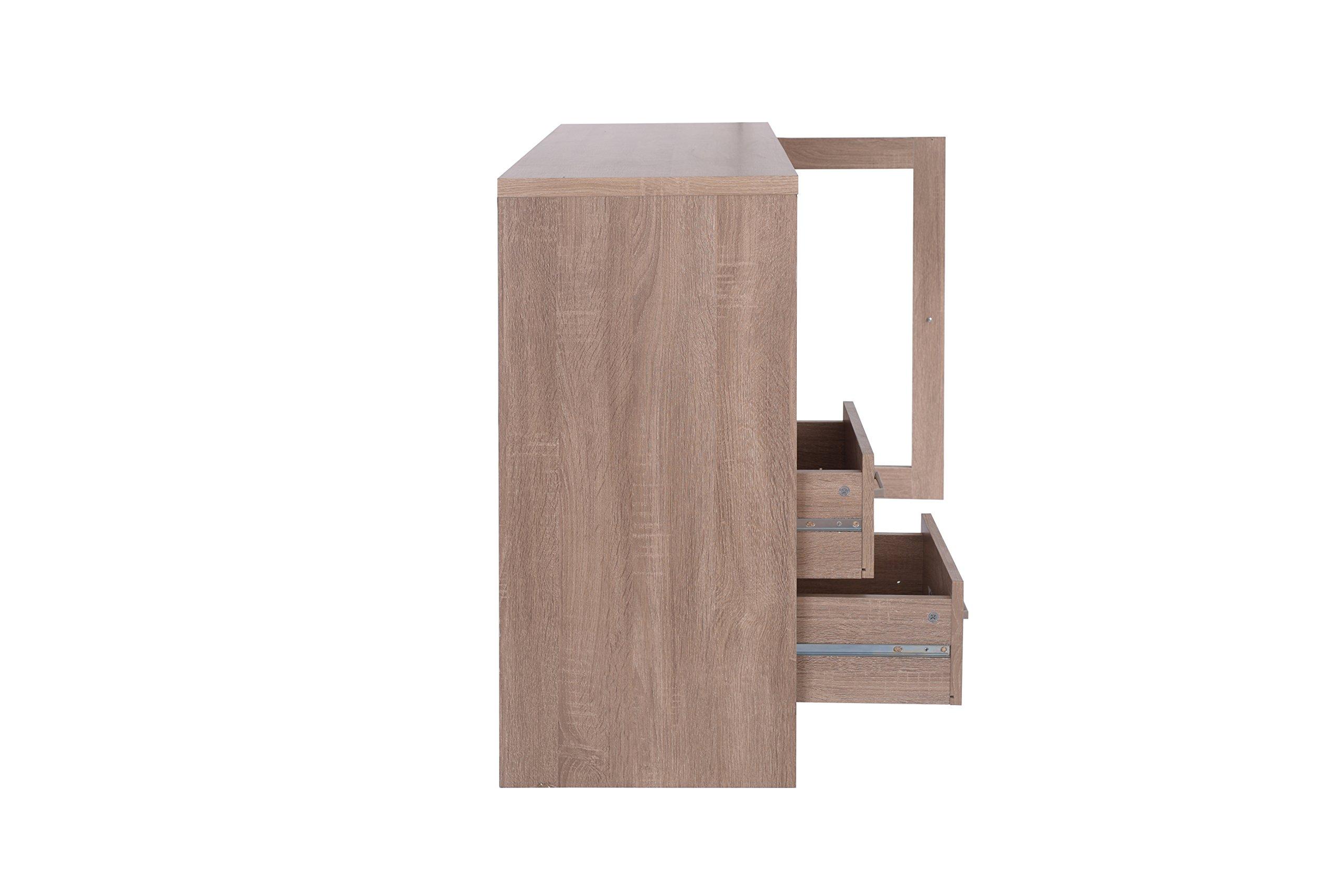 Acme Furniture 72635 Joice Rustic Oak Server by Acme Furniture (Image #4)
