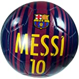 FC Barcelona Authentic Official Messi 10 Licensed Signature Soccer Ball Size 3