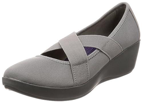0b625c326e28 crocs Women s Busy Day Strappy Wedge W Smoke Slate Grey Fashion Sandals-W10  (