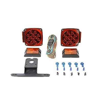 MaxxHaul 70205 12V All LED Submersible Trailer Light Kit: Automotive