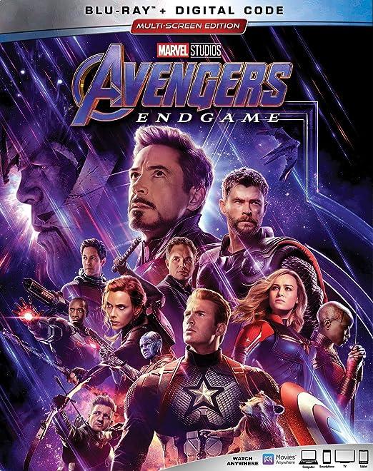 Avengers: Endgame 2 Blu-Ray Edizione: Stati Uniti Italia Blu-ray ...
