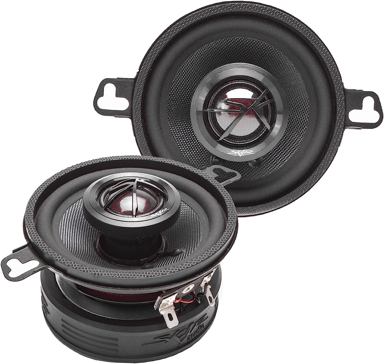 """Skar Audio TX35 3.5"""" 120W 2-Way Elite Coaxial Car Speakers, Pair"""