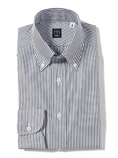Beams F Coolmax Stripe Buttondown Shirt 21-11-2655-563