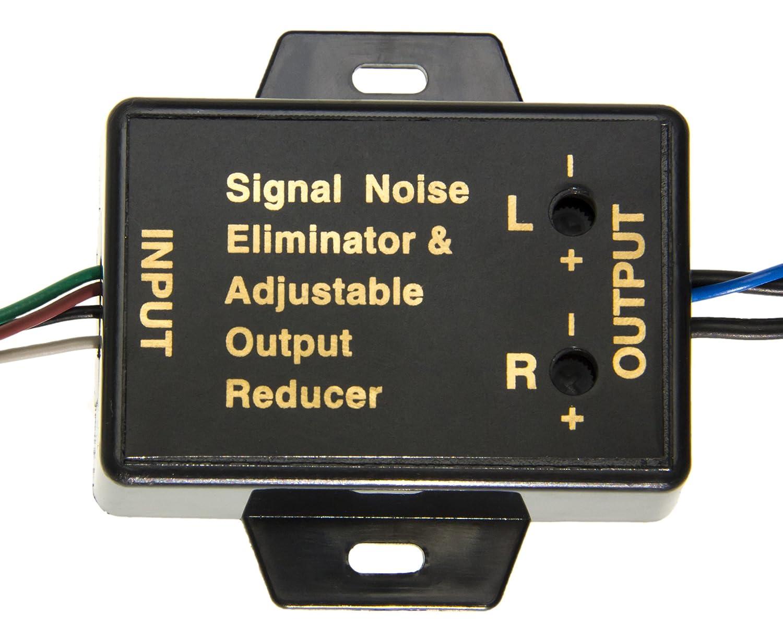 Low Level Konverter Adapter Car Audio Cinch Wandler: Amazon.de ...