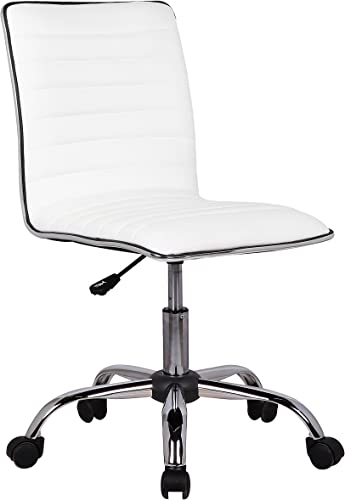 Porthos Home Adjustable Lindsey Office Chair, White