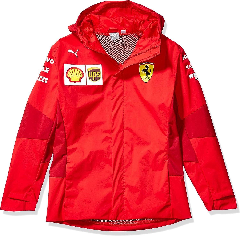 PUMA Formula 1 mens Scuderia Ferrari Team Softshell Jacket