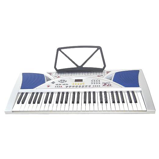54 opinioni per Tastiera Elettronica Keyboard DynaSun MK2054 54 Tasti con Display LCD con