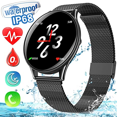 Amazon.com: Smart Watch for Men Women, Dreamoo Fitness ...