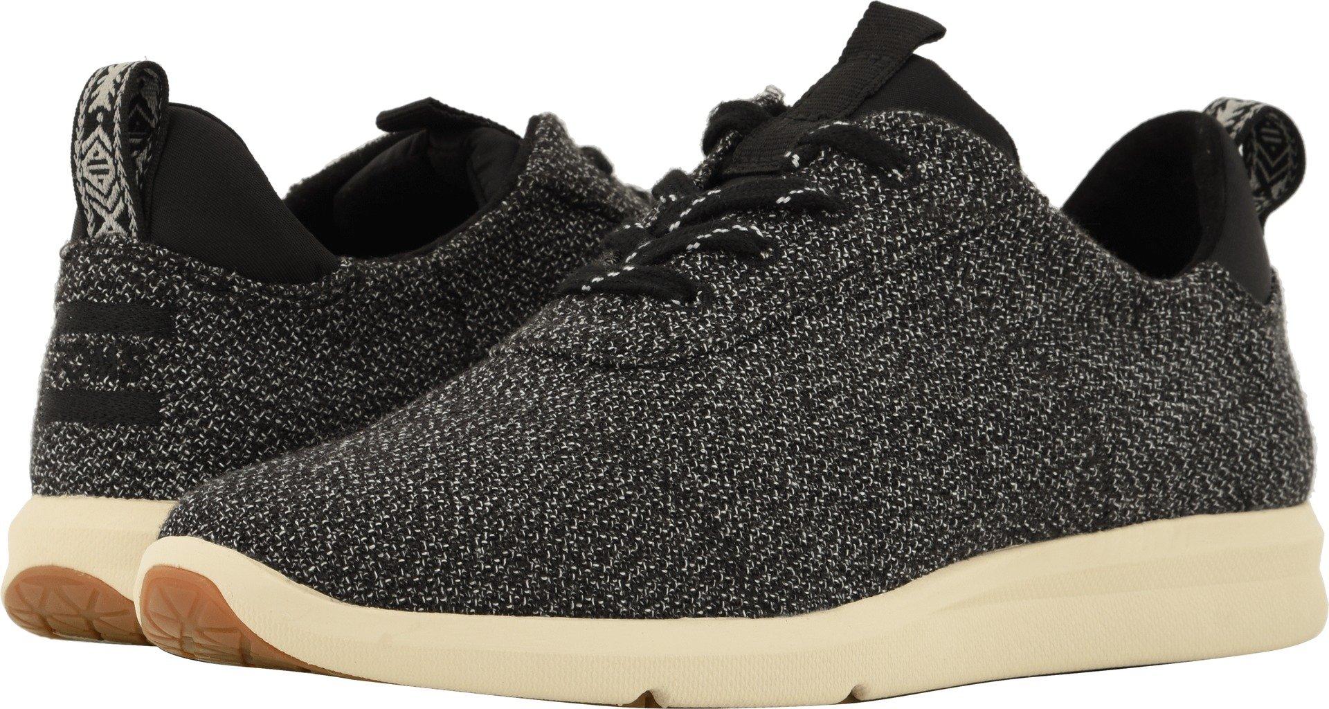 TOMS Women's Cabrillo Sneaker Black Terry Cloth 9.5 M