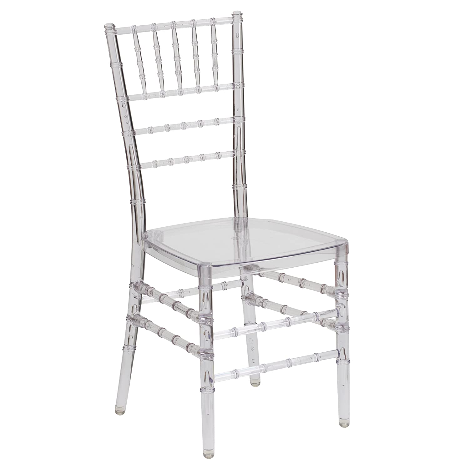 Flash Furniture Flash Elegance Crystal Ice Stacking Chiavari Chair