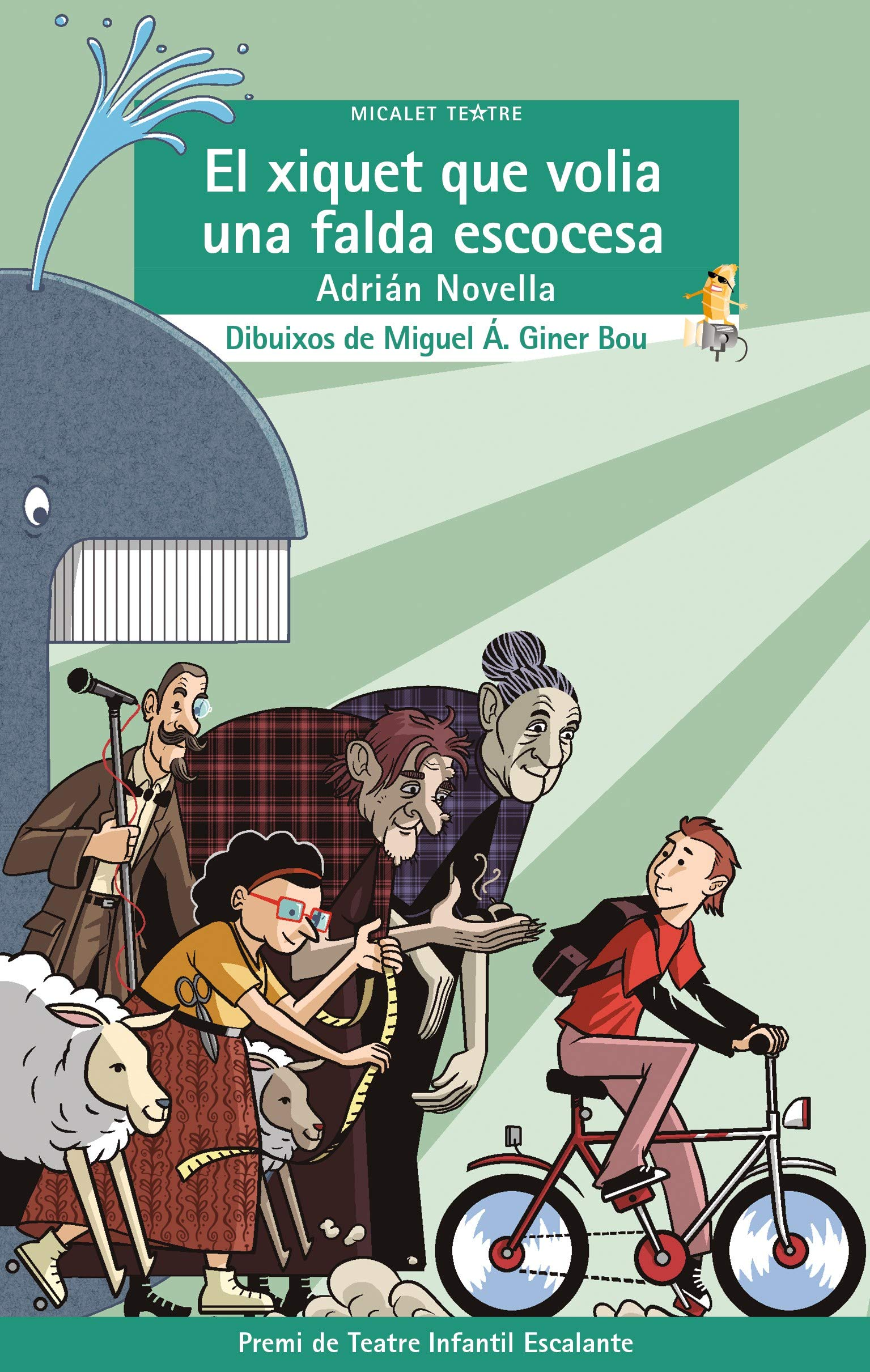 El xiquet que volia una falda escocesa: 50 Micalet Teatre: Amazon ...