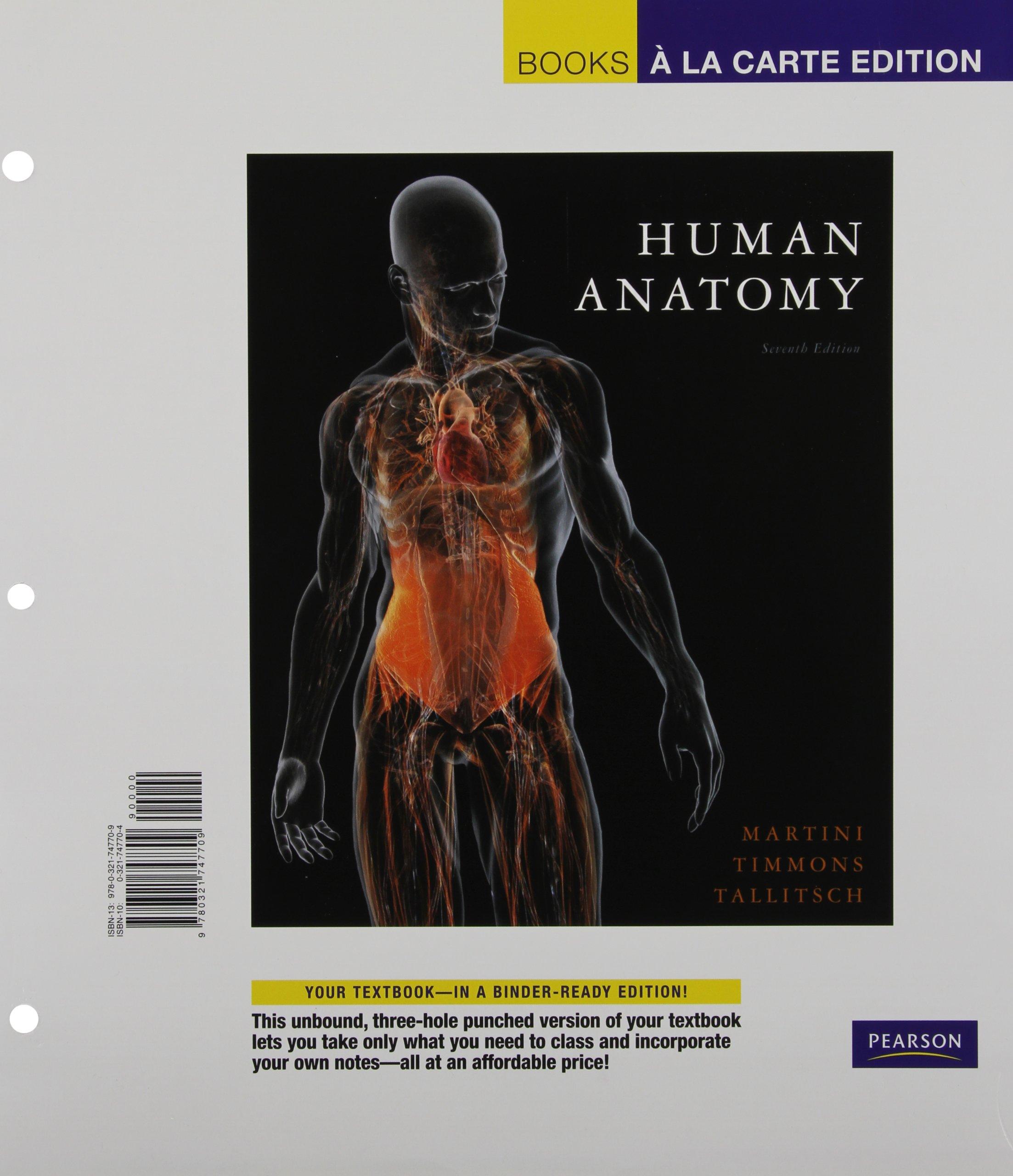 Human Anatomy Books A La Carte Edition 7th Edition Amazon
