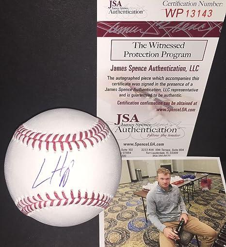 Just Jon Lester Autographed Signed 2016 World Series Mlb Baseball Ball Cubs Jsa Coa Outstanding Features Sports Mem, Cards & Fan Shop