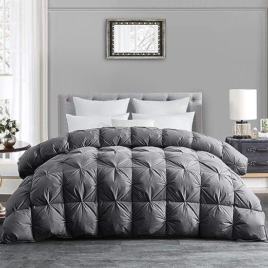Amazon Com Hombys All Season Goose Down Comforter King Size Duvet