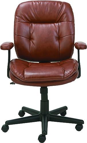 OIF Swivel/Tilt Leather Task Chair