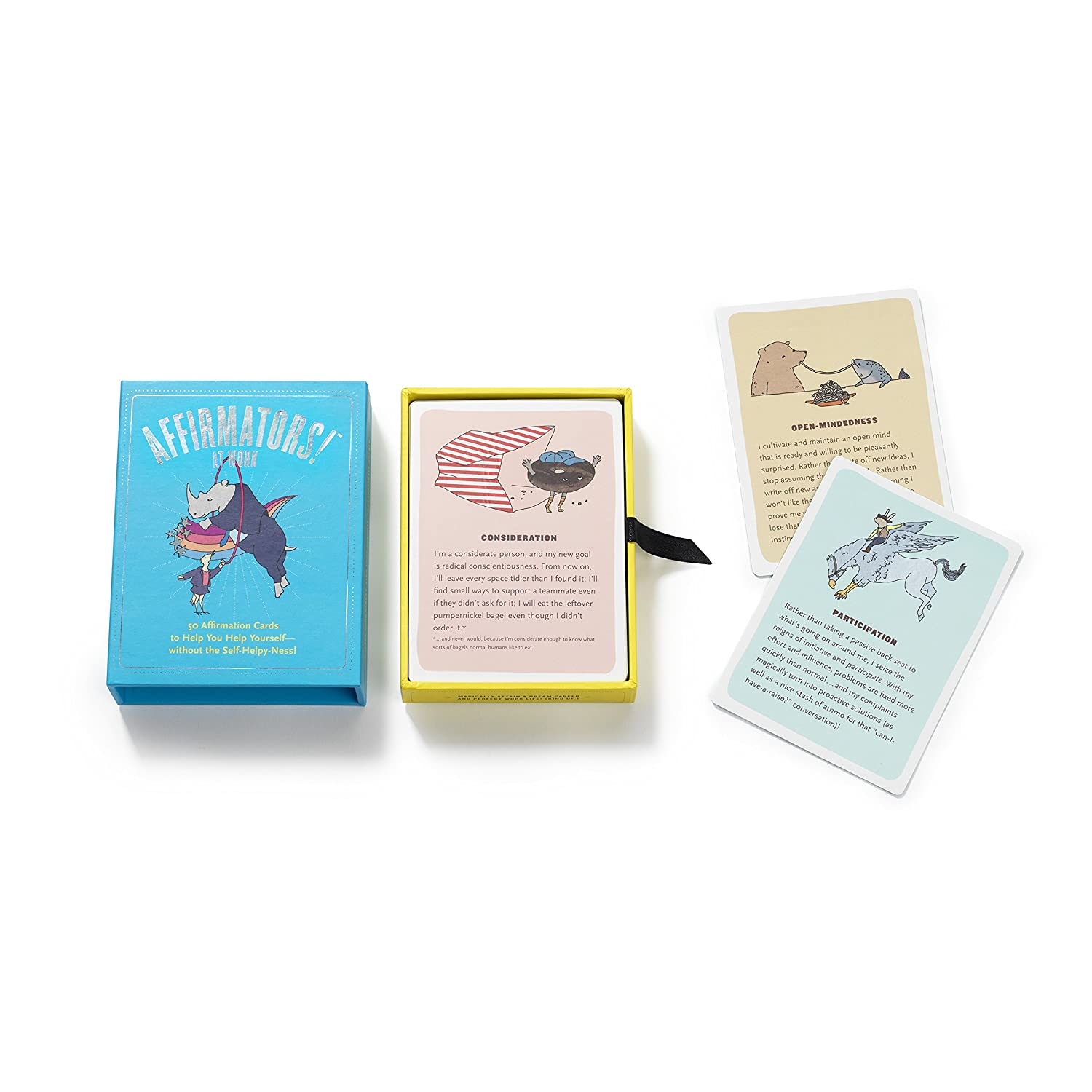 Family Deck 50 Affirmation Cards on Kin of All Kinds Without The Self-Helpy-Ness! Affirmators