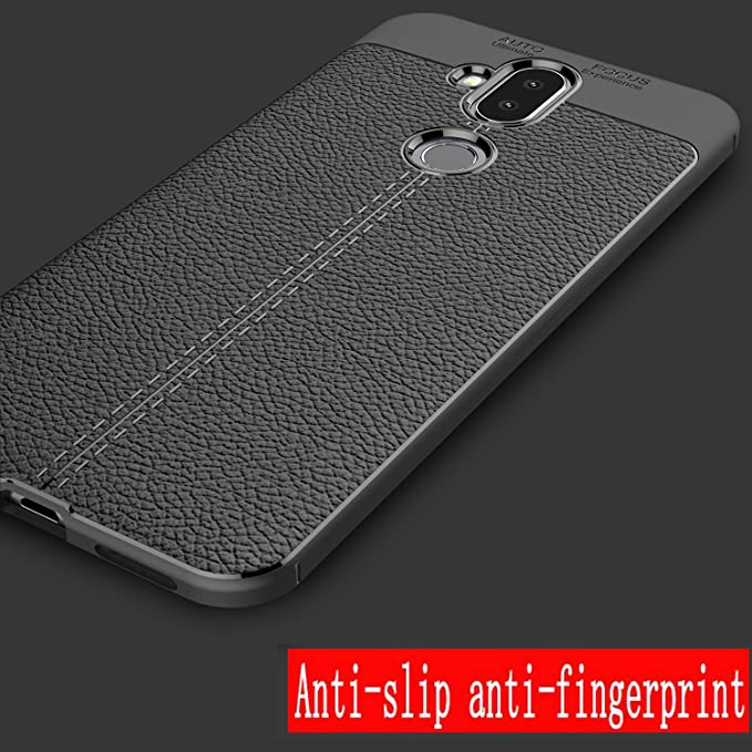 Asus ZenFone 5Q ZC600KL Case,MYLB Lightweight Carbon Fiber Design Flexible Soft TPU Case Highstrength Shockproof Protective Back Cover to Protect the ...