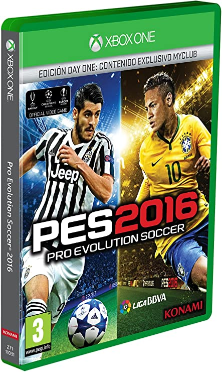 Pro Evolution Soccer 2016 (PES 2016) - Day One Edition: Konami: Amazon.es: Videojuegos