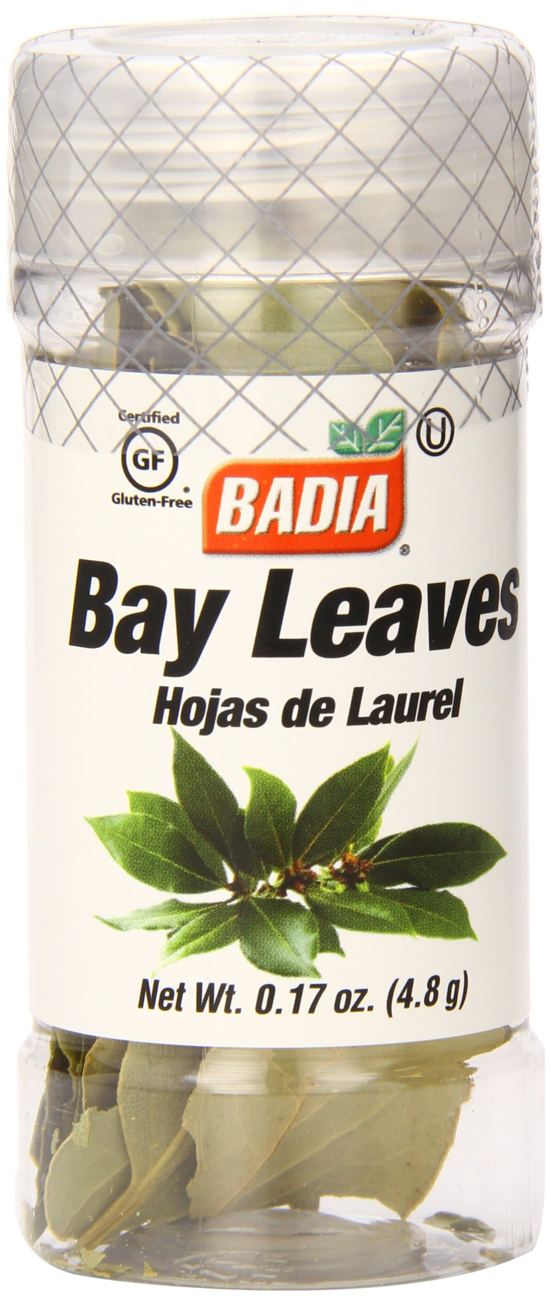 Badia Bay Leaves Whole.17 Ounce (Pack of 12)