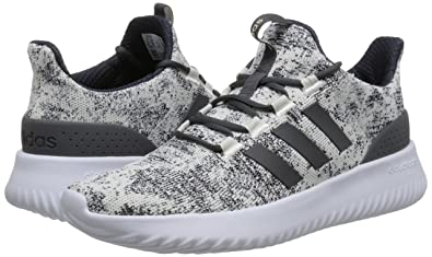 Amazon.com | adidas Neo Men Shoes Cloudfoam Ultimate Running Training Trainers White/Black | Road Running
