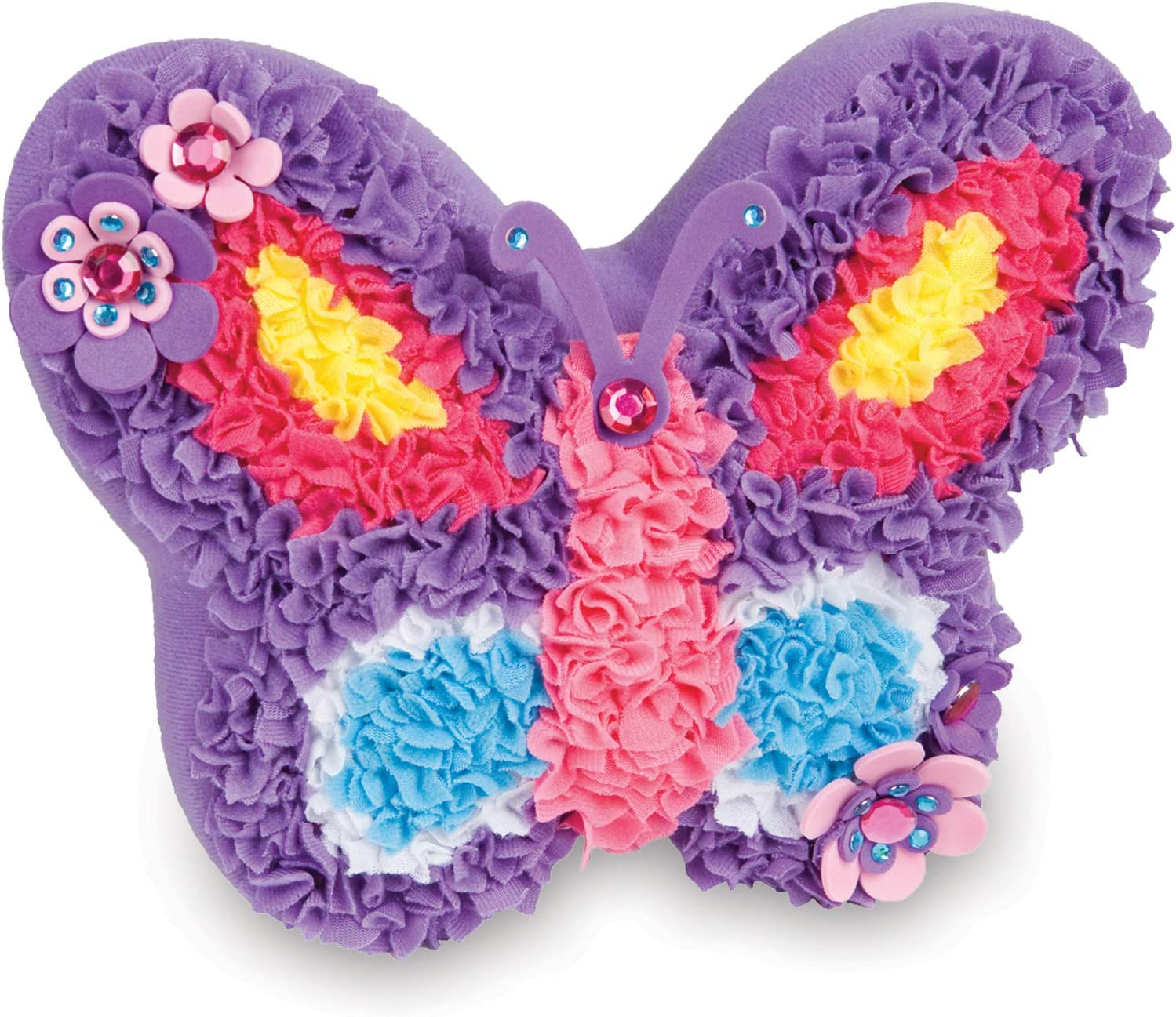 The Orb Factory Plush Craft Butterfly Pillow Butterfly