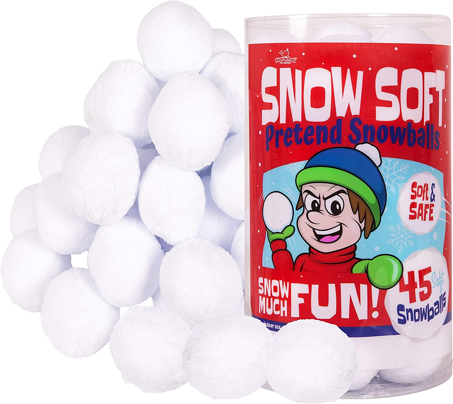 Details about  /FOOTBALL SHAPED SNOWBALL ARSENALS  Assorted Colors  Makes 6 Football Snowballs