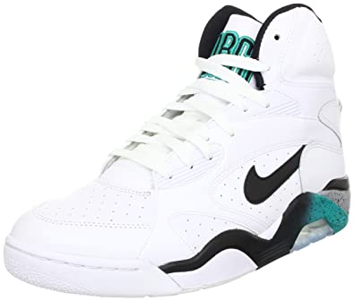3480562931 Nike New Air Force 180 MID Mens Basketball Shoes 537330-100 White 13 M US