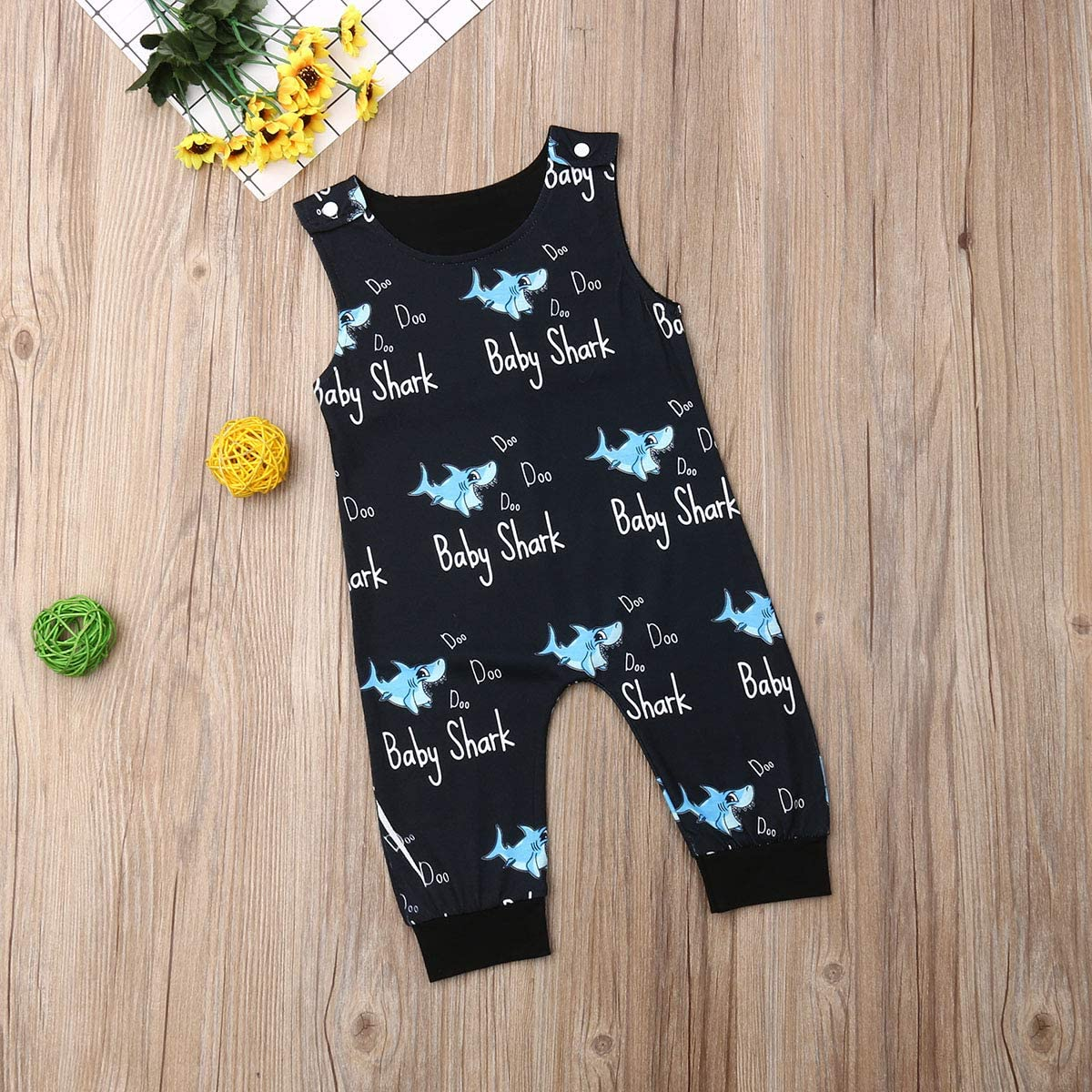 Infant Toddler Baby Boys Sleeveless Romper One-Piece Jumpsuit Toddler Clothes Star Wars Outfits Clothing