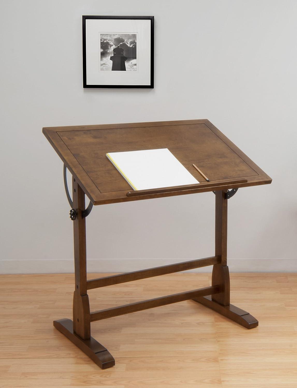 Attractive Amazon.com: Studio Designs 36 X 24 Inch Vintage Drafting Table, Rustic Oak