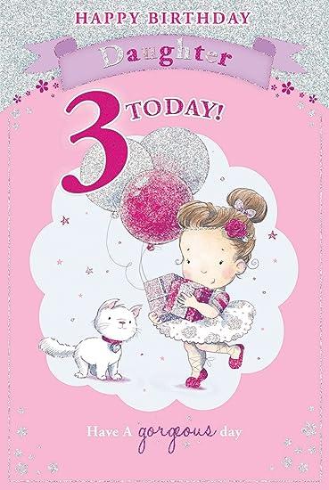 Amazon.com: Candy 3 de hija de tercera – Tarjeta de ...