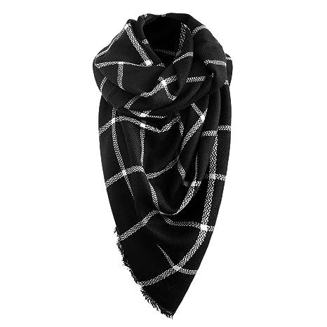 63010346aca9c Automne/Hiver écharpe de femmes Écharpe automne Foulard d'hiver  Surdimensionné dans la couleur