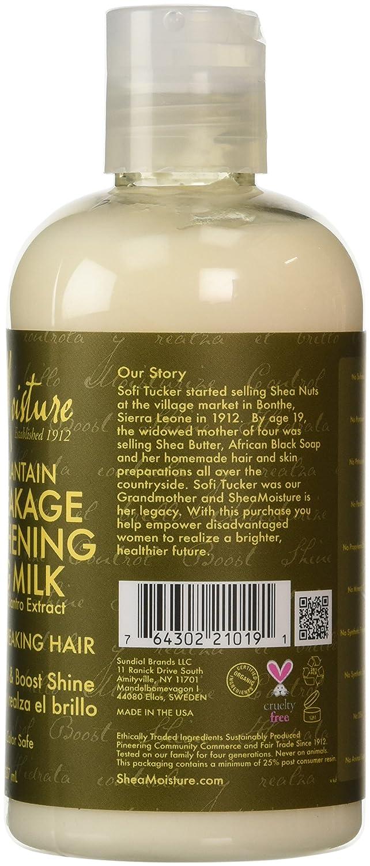 Shea Moisture Y&P Anti Break Milk, Tratamiento Capilar Anticaida - 237 ml: Amazon.es: Belleza