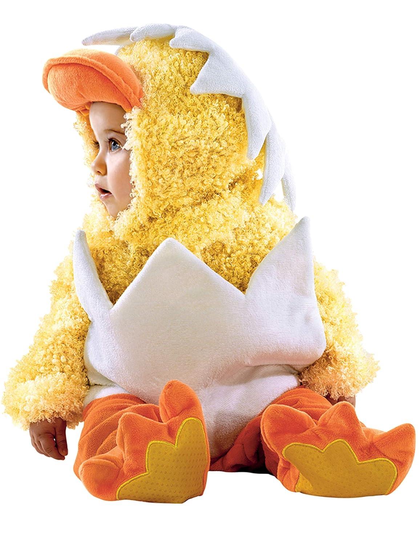 Disfraz de pollo con cáscara bebé 12 meses (80)
