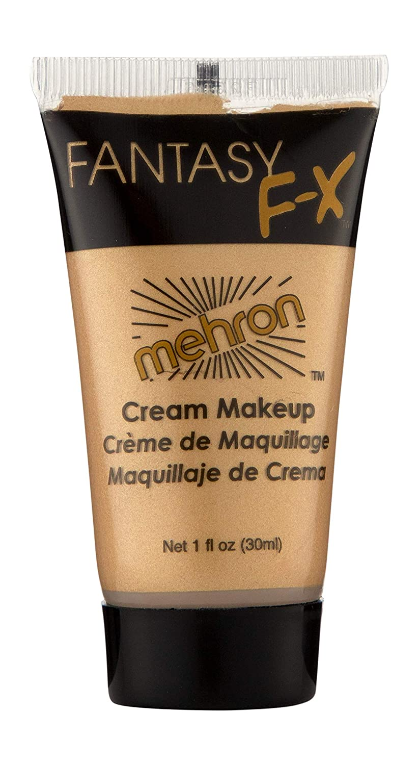 Mehron Makeup Fantasy F/X Water Based Face & Body Paint (1 Fl Oz) (GOLD)
