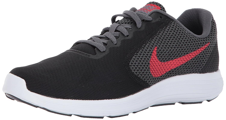NIKE Men's Revolution 3 Running Shoe B01N3KUACY 12.5 D(M) US|Black/University Red/Dark Grey