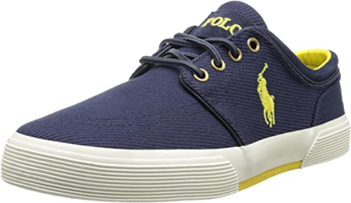 Ralph Lauren Faxon Low SK VLC Verde para Hombre Trainers, Color ...