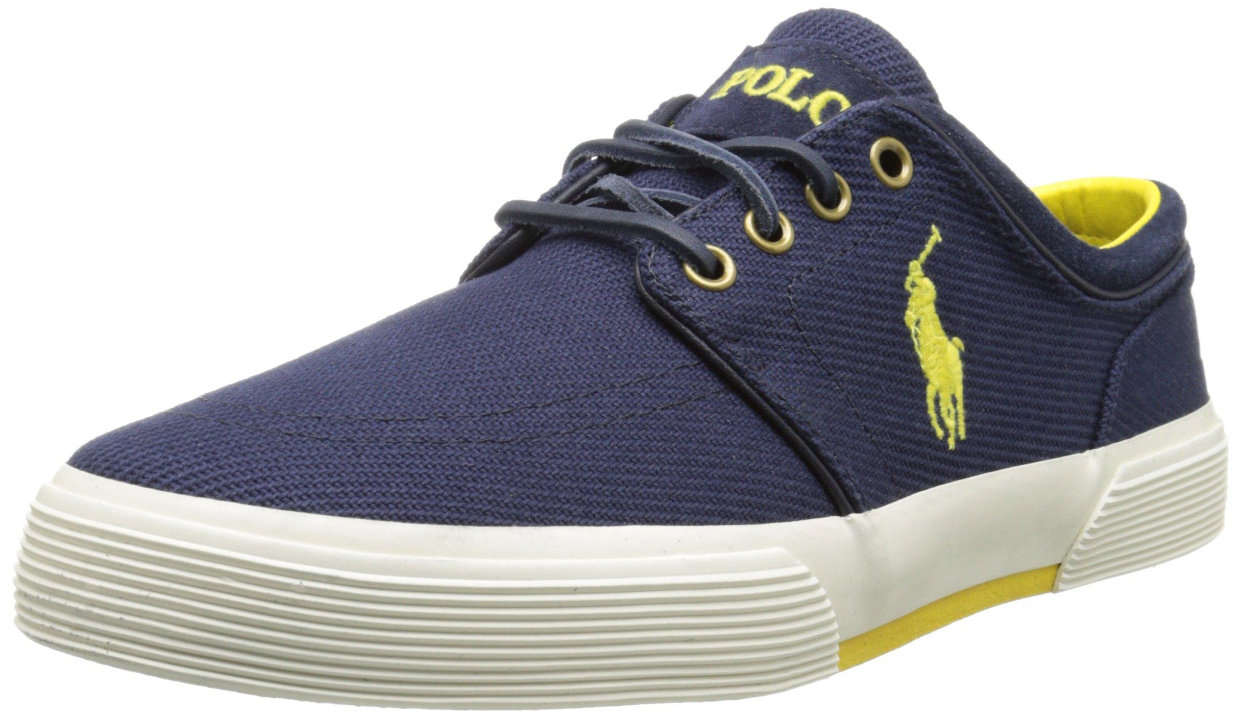 Polo Ralph Lauren Men's Faxon Low Rubber Fashion Sneaker