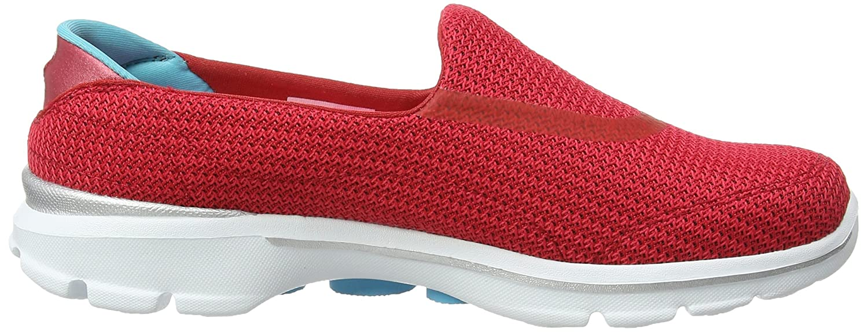 Skechers 3 Performance Women's Go Walk 3 Skechers Slip-On Walking Shoe B00S6XAD0U 6.5 B(M) US|Red e67841