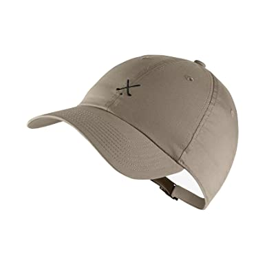 92eb40ad625 Image Unavailable. Image not available for. Color  NIKE Men`s Heritage 86  Adjustable Golf Hat (Khaki ...