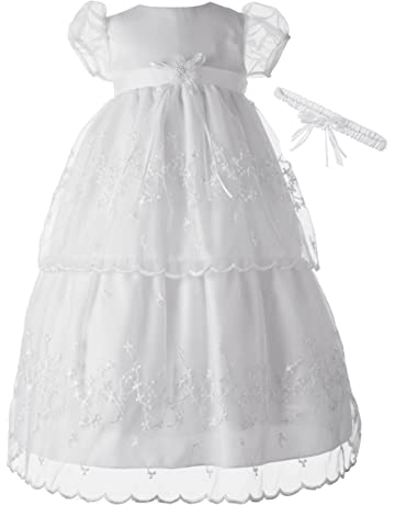2595f25918b Lauren Madison Baby-Girls Christening Baptism Special Occasion Multi Tiered  Gown