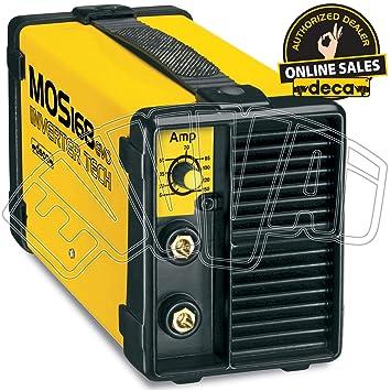 Soldador inverter Deca Mos 168 Evo - 5/150 Amperios: Amazon.es: Bricolaje y herramientas